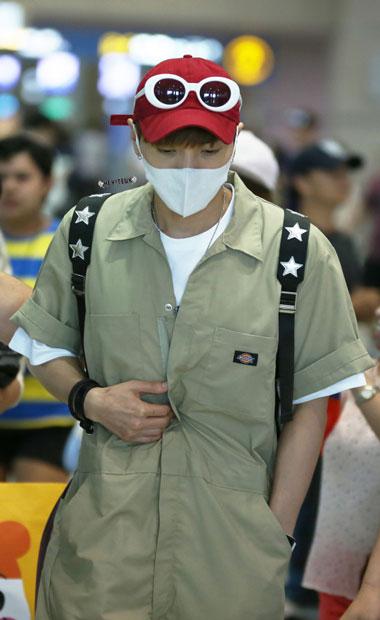 فرودگاه اینچئون میزبان لی تئوک و یی سانگ بود