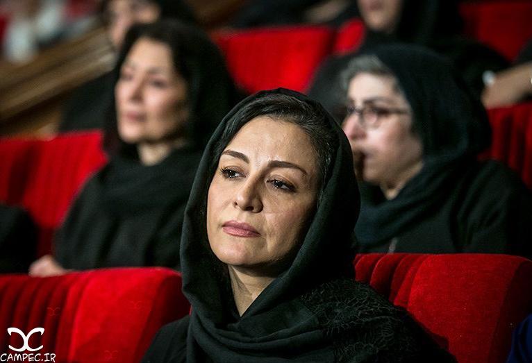 مریلا زارعی در مراسم یادبود عباس کیارستمی