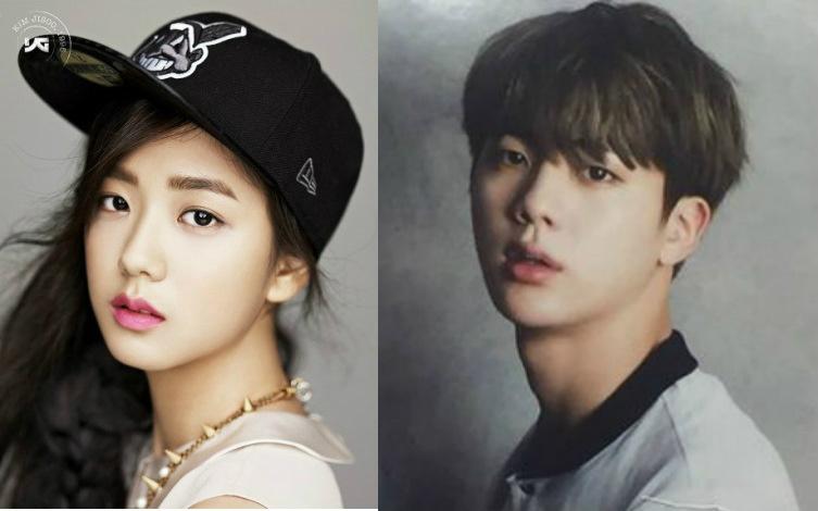 pann] Black Pink Jisoo and BTS Jin real resemblance | allkpop Forums