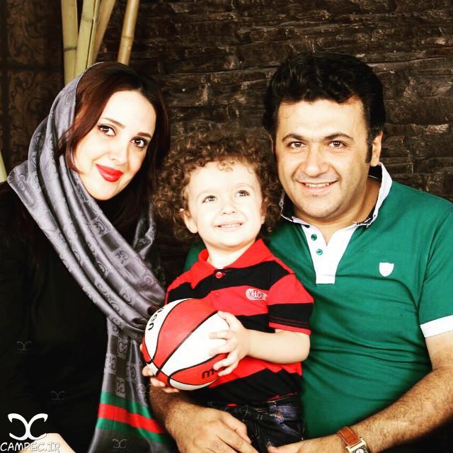 تصاویر شهرام عبدلی و همسر  و فرزندش+بیوگرافی