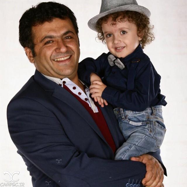 شهرام عبدلی و پسرش