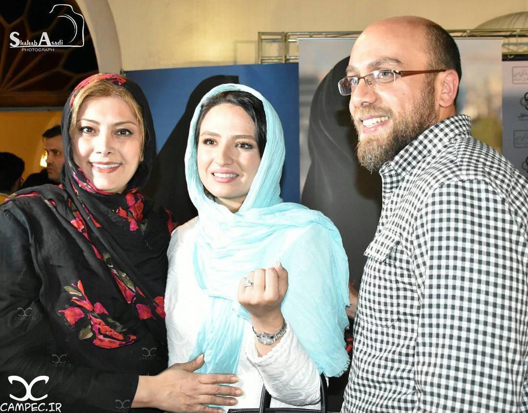 گلاره عباسی و همسرش ادیب راد