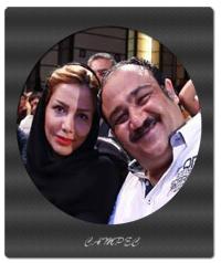 بیوگرافی و عکسهای مهران غفوریان با همسرش