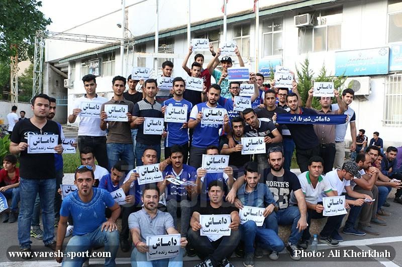 گزارش تصویری استقبال از سامر رجب اف و اسماعیل حاجی پور