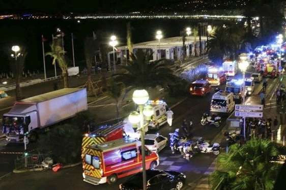 در محکومیت عملیات تروریستی نیس فرانسه