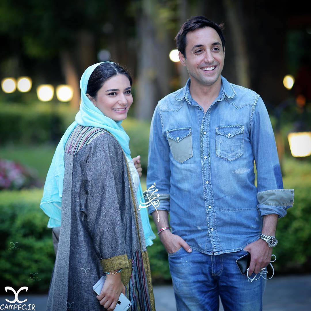 امیر حسین رستمی و لیندا کیانی افتتاحیه فیلم پشت در خبری نیست