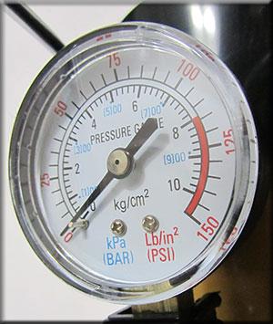 درجه تنظیم باد پمپ کوچک بادی
