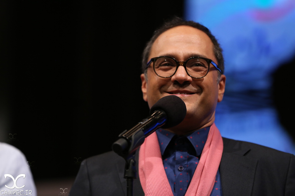 رامبد جوان در اختتامیه جشنواره فیلم سلامت