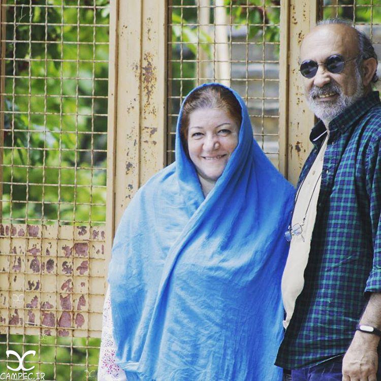 عکسها و بیوگرافی عادل بزدوده و همسرش طاهره برومند
