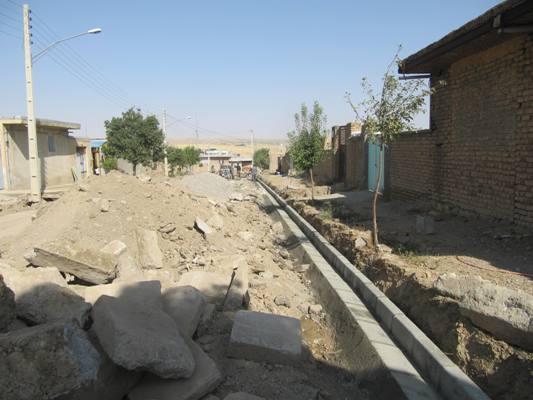 عملیات تعویض جداول فرسوده خیابان شهید نواب صفوی