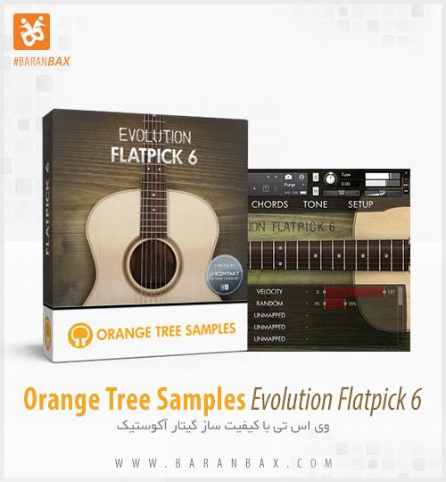 دانلود وی اس تی گیتار آکوستیک Orange Tree Samples Evolution Flatpick 6