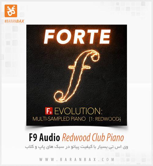 دانلود وی اس تی پیانو F9 Forte Evolution Redwood Club Piano
