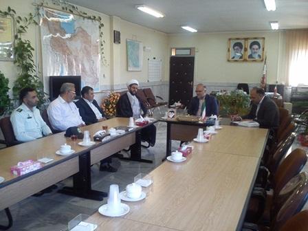 دیدار با فرماندار شهرستان فلاورجان به مناسبت هفته دولت