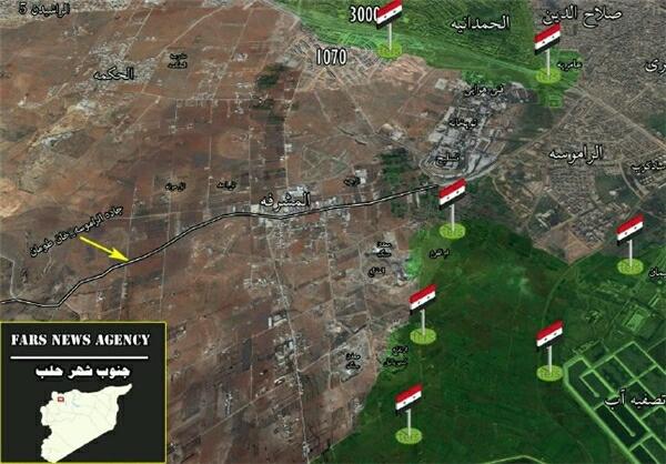: حلقه محاصره تروريستها در