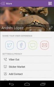 دانلود برنامه پیام رسان وایبر viber برای اندروید