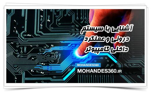 آشنایی با سیستم درونی و عملکرد داخلی کامپیوتر