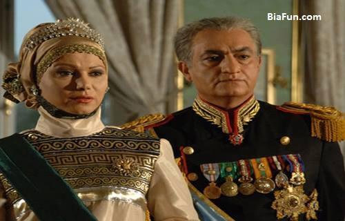 نیلوفر خرم نیک در سریال معمای شاه
