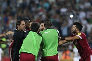 جزئیات ماجرای درگیری در بازی ایران و قطر مقدماتی جام جهانی 11 شهریور 95+عکس