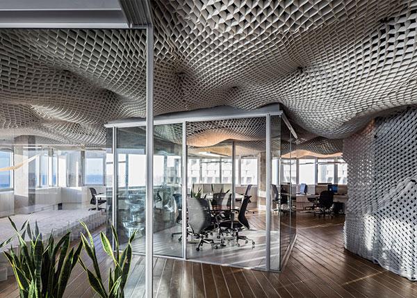 طراحی زیبا و ساده برای دفتر کار