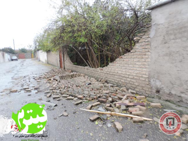 تصاویر طوفان مازندران