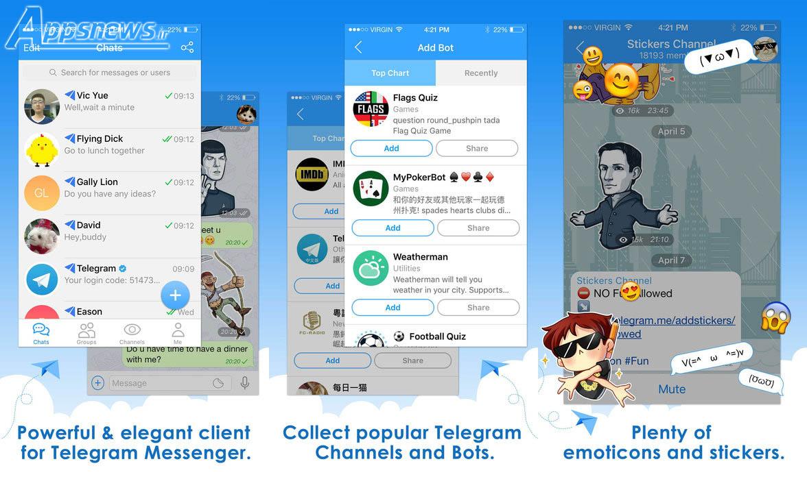 نصب هم زمان دو تلگرام در یک دستگاه iOS با نرم افزار Telepal + لینک دانلود