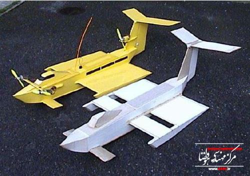 ساخت قایق پرنده مدل (۲)