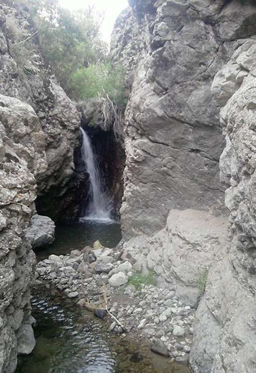آبشار میانه