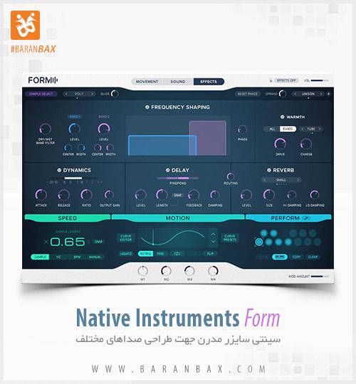 دانلود سینتی سایزر Native Instruments Form