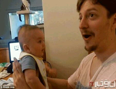 : نوزاد سه ماهه اي که حرف مي زند    مربوط به پست قبلی.