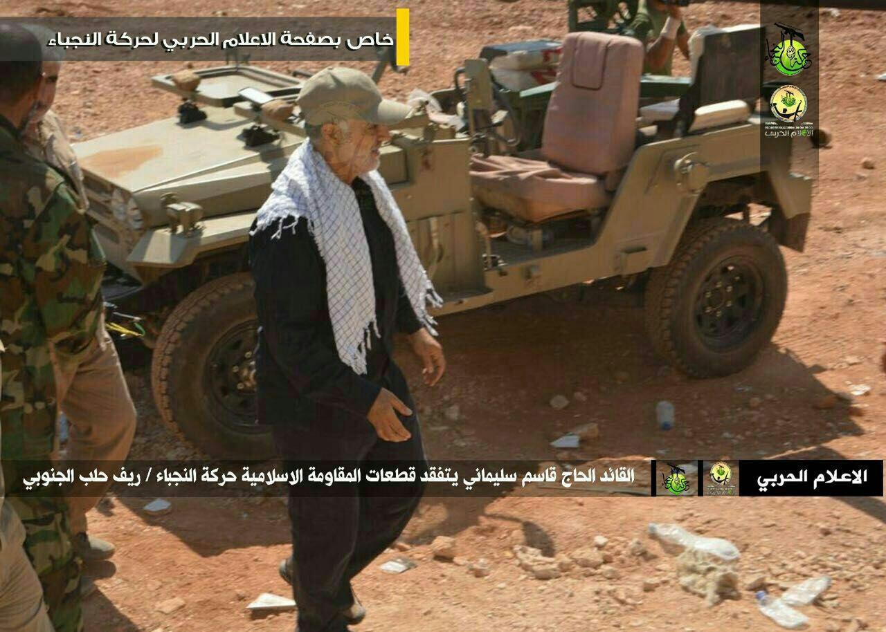 ✅حاج قاسم سليماني در جنوب حلب/ شهريور ٩٥
