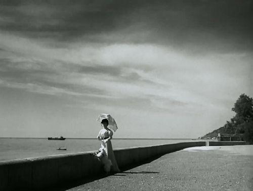 نمایی از فیلم  بانو با سگ ملوس (1960)