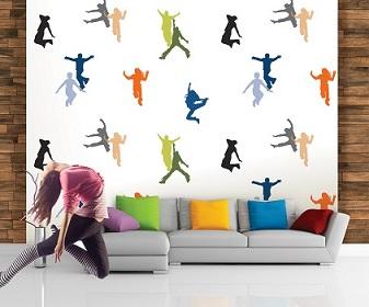 کاغذ دیواری اتاق نوجوان