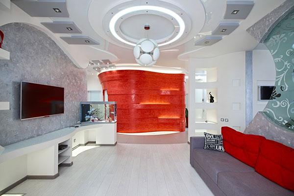 یک طراحی و اجرای خاص برای منزل مسکونی