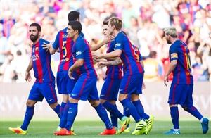 نتیجه بازی دیشب بارسلونا و آلاوز 20 شهریور 95 گلها و خلاصه