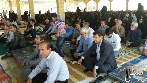 مراسم دعای عرفه در نورآباد