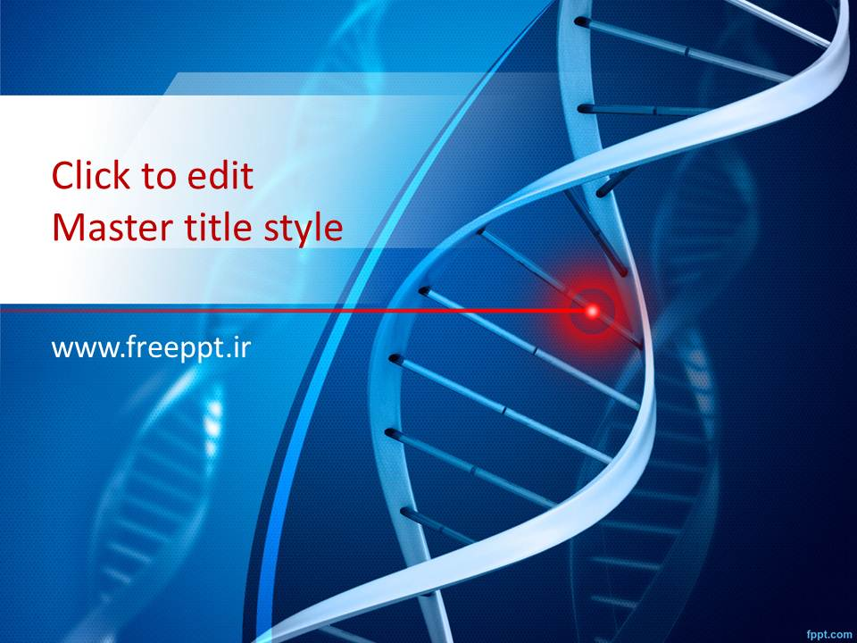 قالب پاورپوینت DNA