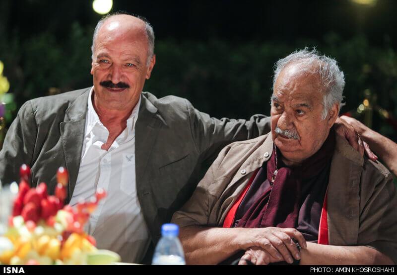 عکس ملک مطیعی و سعید راد در هجدهمین جشن خانه سینما 21 شهریور 95