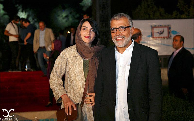 بهروز افخمی و همسرش مرجان شیرمحمدی در جشن روز ملی سینما
