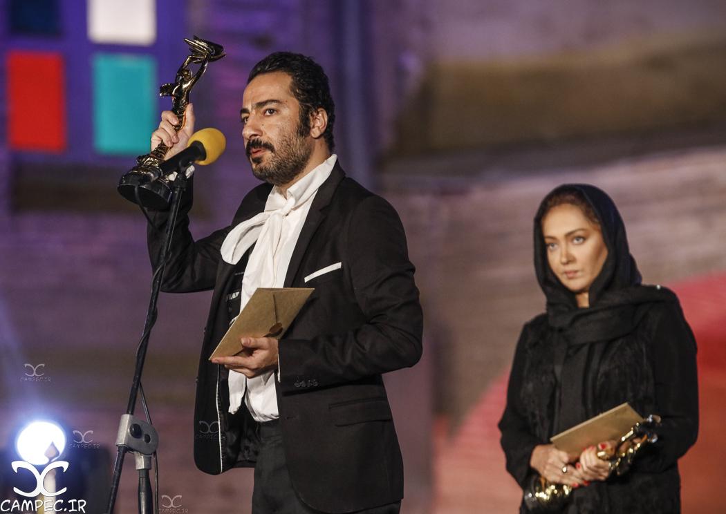 نوید محمدزاده در هجدهمين جشن خانه سینما