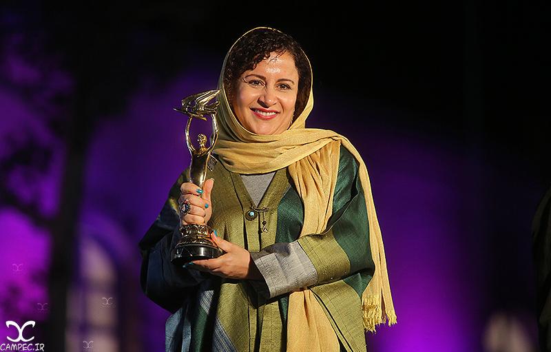 فرشته صدر عرفایی در هجدهمين جشن خانه سینما