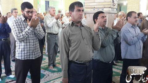 نماز عید سعید قربان در ممسنی