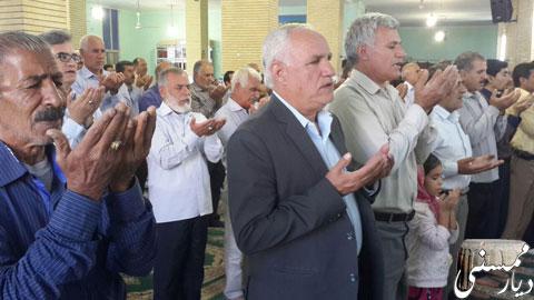 نماز عید قربان در نورآباد