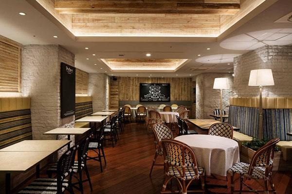 طراحی رستوران ساده و زیبا