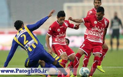 نتیجه و خلاصه بازی پرسپولیس و گسترش فولاد دوشنبه 4 بهمن 95