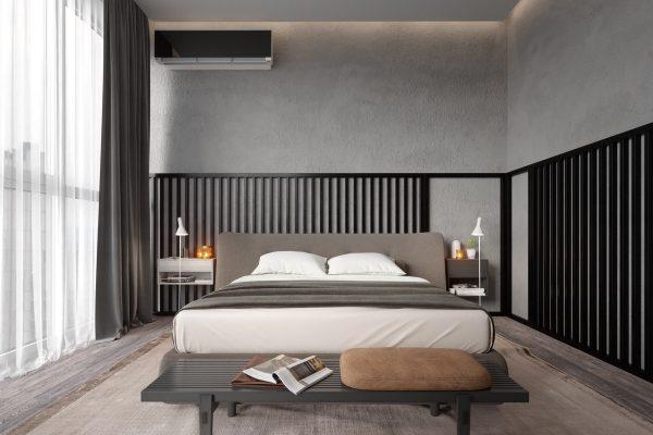 طرح دیوار اتاق خواب2