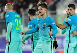 نتیجه بازی بارسلونا و رئال سوسیداد 7 بهمن 95 | فیلم گلها و خلاصه دیشب