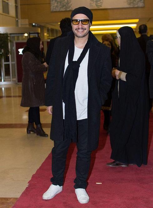 جواد عزتی در افتتاحیه جشنواره فیلم فجر