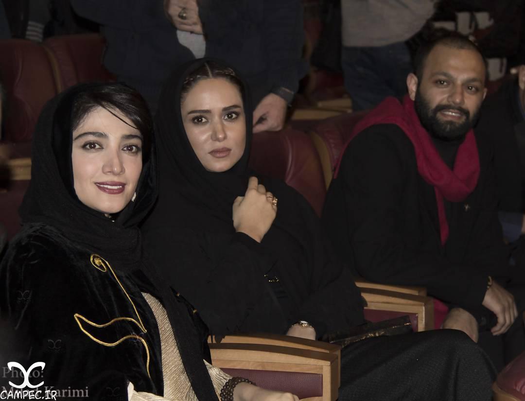 بازیگران در افتتاحیه جشنواره 35 فیلم فجر