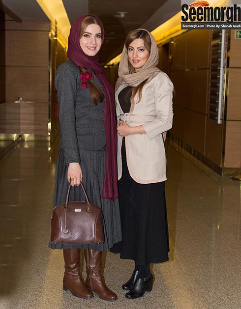 متین ستوده و سمیرا حسینی در سی و پنجمین جشنواره فیلم فجر