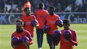 نتیجه بازی بارسلونا و اتلتیکو مادرید 13 بهمن 95 فیلم گلها و خلاصه